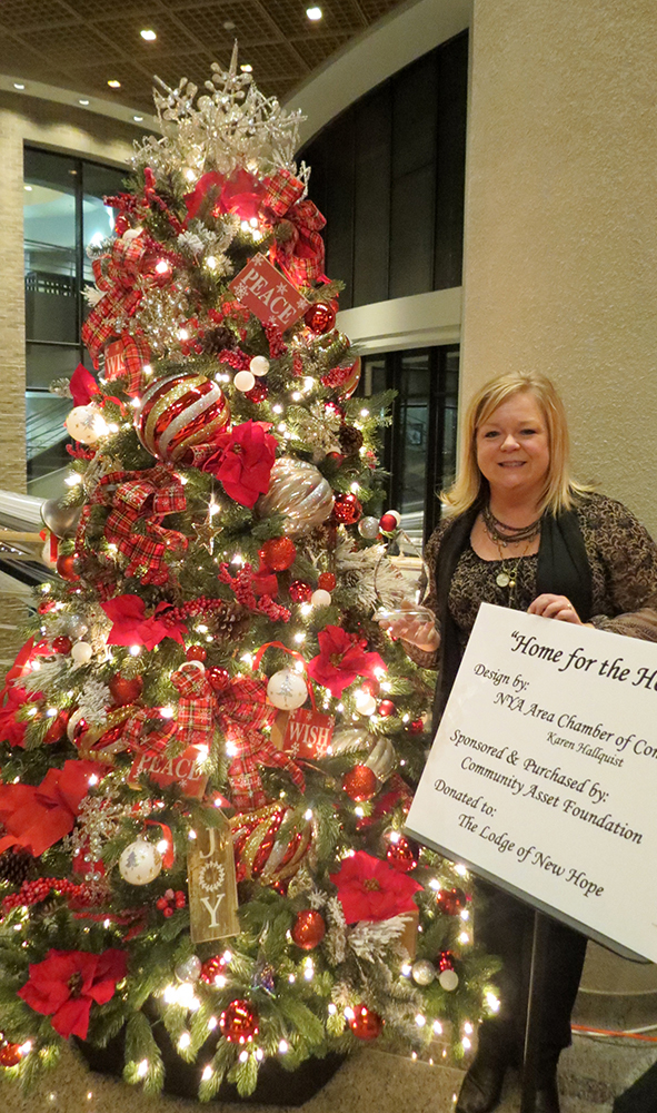 Festival of Trees - People's Choice Award winner