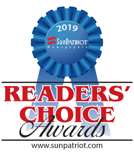 2019 Sun Patriot Reader's Choice Awards badge