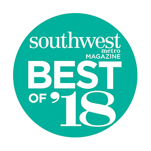 Southwest metro Magazine Best of 2018 badge
