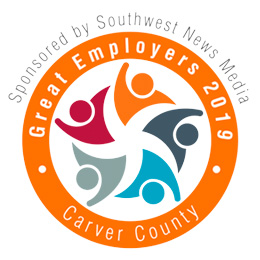 Great Employers 2019 – Carver County logo