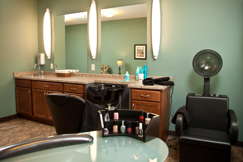 Auburn Meadows assisted living beauty shop