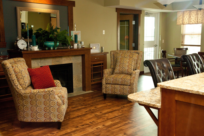 Auburn Meadows assisted living common area
