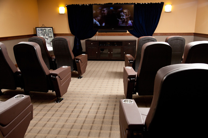Auburn Meadows assisted living theater
